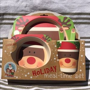 Other - Kids Meal-time Bamboo Set